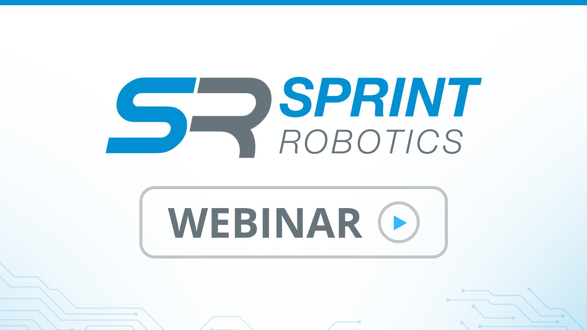 SPRINT Robotics webinar