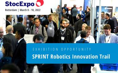 SPRINT Robotics StocExpo Rotterdam Innovation Trail